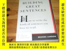 二手書博民逛書店Building罕見Great Sentences:How to