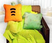 辦公室抱枕被子兩用靠枕車內靠墊毛毯子午睡枕頭夏涼被三合一神器  LX
