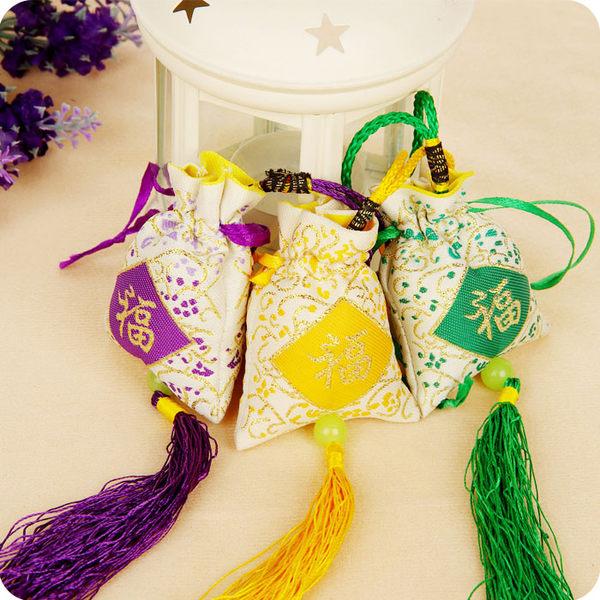 民族風刺繡香囊 掛式香包防霉驅蚊蟲香袋子隨身香包掛件