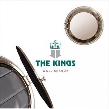 THE KINGS Love Ocean海洋狂想曲復古工業收納船艙鏡