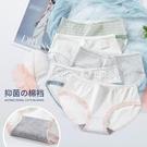 100%全棉襠女士內褲三角學生內褲女純棉少女日系蕾絲可愛女生中腰