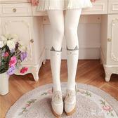 中大尺碼日系可愛貓咪連褲襪秋加厚全棉針織絲襪連體襪子百搭顯瘦打底襪 js10600『科炫3C』
