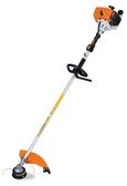 [ 家事達 ] 德國 STIHL-專業 側背式硬管割草機- 40.2 cc  特價 好發動/耐用/高品質