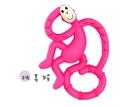 英國Matchstick Monkey跳舞猴牙刷固齒器(桃喜猴)(MMD-003) 550元