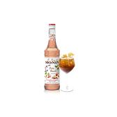 Monin糖漿-白桃700ml(專業調酒比賽 及 世界咖啡師大賽 指定專用產品)