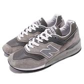 New Balance 復古慢跑鞋 997 NB 灰 白 元祖灰 USA製 美製 麂皮鞋面 運動鞋 男鞋 女鞋【ACS】 M997GYD