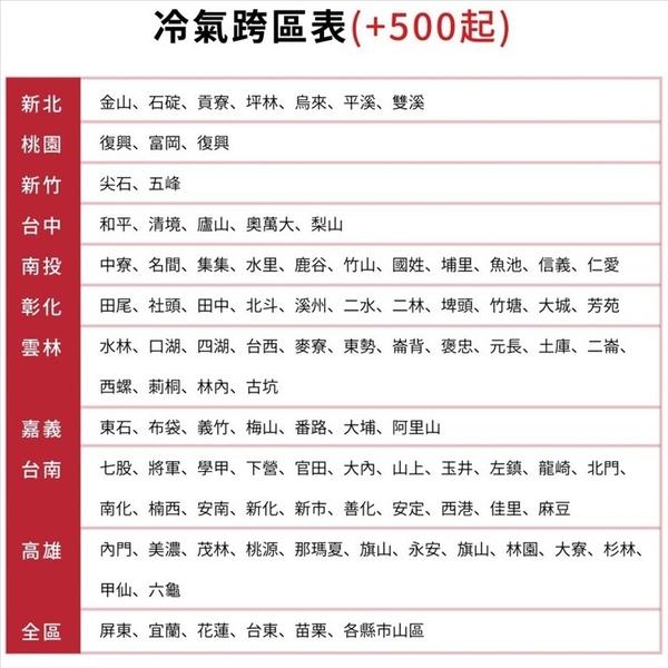 《全省含標準安裝》萬士益【MAS-50CV32/RA-50CV32】變頻分離式冷氣8坪 優質家電