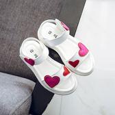 女童真皮涼鞋韓版公主鞋-2色