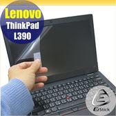 【Ezstick】Lenovo ThinkPad L390 靜電式筆電LCD液晶螢幕貼 (可選鏡面或霧面)