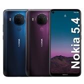 【內附保護套+保貼】Nokia 5.4 6G/64G
