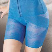 華歌爾-280 D彈性寬幅蕾絲款64-82中高腰長褲管(靚麗藍) NE1339-NC