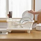 瀝水架 家用廚房瀝水碗架多功能大號塑料置物架收納架碗碟瀝水籃置碗架子 【夏日新品】