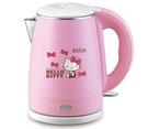 【震撼精品百貨】Hello Kitty 凱蒂貓~三麗鷗Hello Kitty 歌林雙層不鏽鋼快煮壺#35436