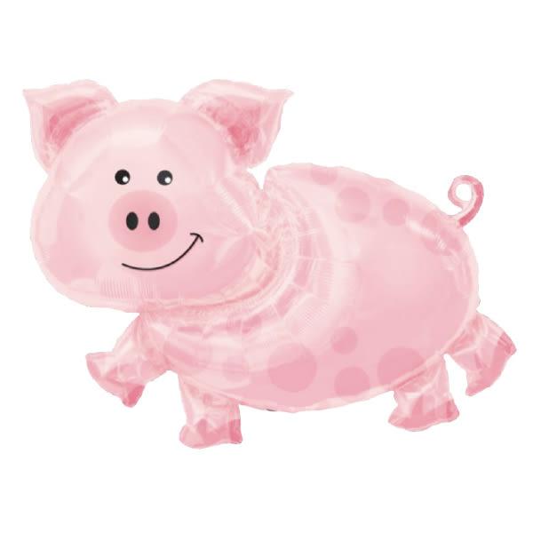 89*64cm鋁箔氣球(不含氣)-小豬