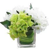 聖誕節 假花玫瑰花仿真花客廳擺設餐桌花藝茶幾擺件絹花繡球花裝飾品花束 熊貓本