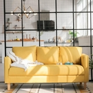 沙發小戶型客廳簡易租房小沙發北歐簡約現代網紅款布藝單雙人沙發【618店長推薦】