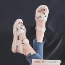 網紅涼鞋女2020年新款厚底松糕學生夏季百搭韓版休閒運動ins潮鞋 中秋節全館免運