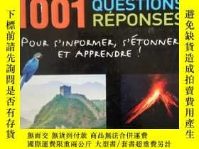 二手書博民逛書店1001罕見QUESTIONS REPONSES (法語)看圖Y