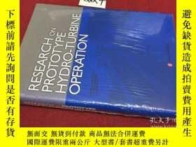 二手書博民逛書店RESEARCH罕見ON PROTOTYPE HYDRO-TUR