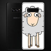 ♥ 俏魔女美人館 ♥Samsung Galaxy Note 8{綿羊*空壓防摔立體浮雕軟殼} 手機殼 手機套 保護殼