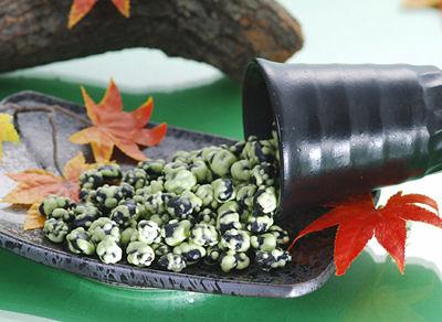【佳瑞發‧芥末黑豆/大包裝 】芥末與黑豆自然的呈現。純素