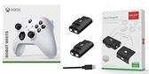 [哈GAME族]免運費 可刷卡 XBOX Series 無線控制器 手把 冰川白 + AOLION AL-XB2020 Xbox Series 手把電池組