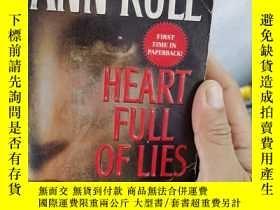 二手書博民逛書店heart罕見full of lies a true story of desire and death ann