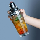 手搖雪克杯套裝奶茶店專用調酒器具調酒杯檸檬茶制作工具帶刻度 初色家居館