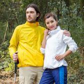 戶外防曬服男女情侶款長袖速干輕薄外套2018新款 DN8475【Pink中大尺碼】