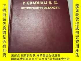 二手書博民逛書店EPITOME罕見E GRADUALI S. E. DE TEMPORE ET DE SANCTISY2434