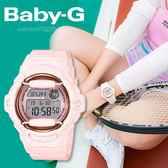 Baby-G 柔和甜美運動錶 BG-169G-4B CASIO 櫻花粉 防水 BG-169G-4BDR 熱賣中!