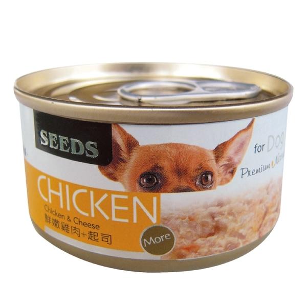 CHICKEN愛狗天然食-鮮嫩雞肉+起司 (70Gx24罐)-箱購