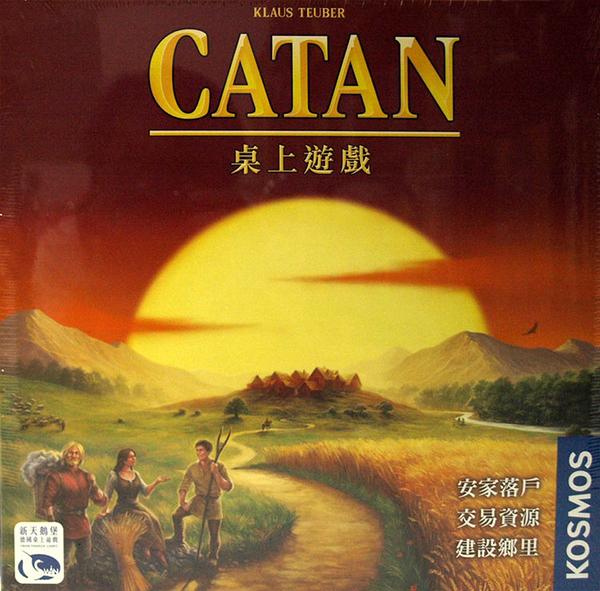 【新天鵝堡】Catan 卡坦島-繁中正版桌遊《熱門益智遊戲》中壢可樂農莊