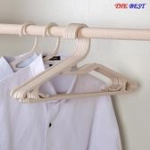 優一居 30隻 塑料 無痕 衣架 晾衣掛 收納 晾曬 多功能 衣撐