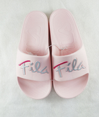 FILA 男女款戶外防水粉色拖鞋-NO.4s326u551