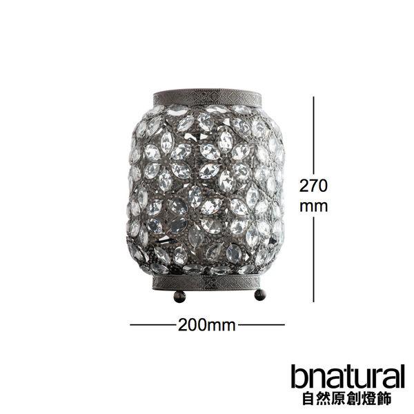 bnatural 青古銅花瓣紋桌燈(BNL00070)