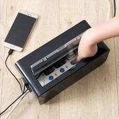 電線插排收納盒插線板集線盒 電源線插座數據線收納整理盒igo 享購