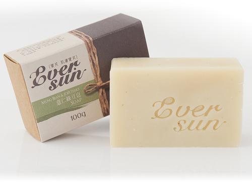 【Eversun 薏仁綠豆皂】去除皮膚多餘的油脂