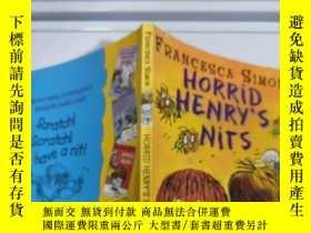 二手書博民逛書店horrid罕見Henry s nits 可怕的亨利 的 屁 話,Y200392