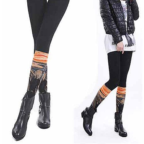JHJ DESIGN, 褲襪, 孟克~吶喊 (The Scream) 款 - 普若Pro品牌好襪子專賣館