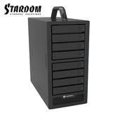 STARDOM SR8-TB3-B 支援3.5吋硬碟與2.5吋固態硬碟 Thunderbolt3 8bay 磁碟陣列硬碟外接盒