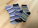 【韓風童品】(3雙/組) 外貿男女童襪 兒童棉襪 女童襪子 學生襪 男童女童襪子  中大童條紋襪子