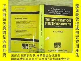 二手書博民逛書店The罕見Organisation in its Environ