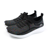 SKECHERS  運動鞋 女鞋 黑色 針織 12843BKMT no019