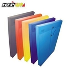 《享亮商城》GF119 黃 加大壓花透明文件袋(F/C) HFP