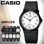 CASIO手錶專賣店 卡西歐 MQ-24-7B  男錶 中性錶 壓克力鏡面 學生必備指針數字 膠質錶帶