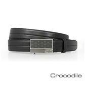 Crocodile 紳士自動穿扣皮帶 0101-42011-01
