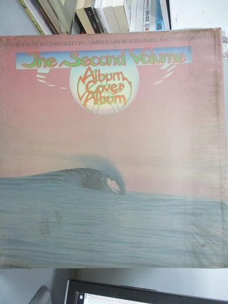 【書寶二手書T2/藝術_XAP】ALBUM COVER ALBUM 2 SB_Storm Thorgerson