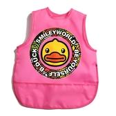 吃飯圍兜防水夏季薄款無袖飯兜園罩衣反穿兒童圍裙畫畫衣