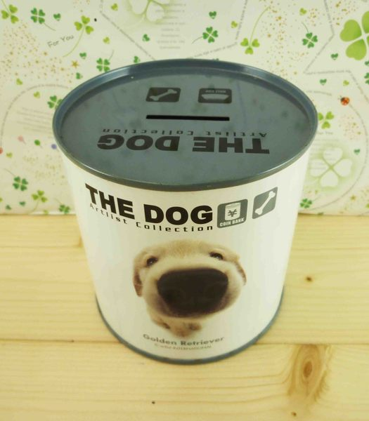 【震撼精品百貨】新大頭狗_The Dog~鐵製存錢筒-黃金獵犬